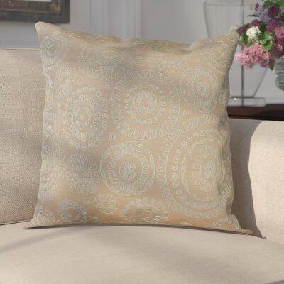 Sander Bohemian Woven Decorative Pillow Cover Color: Tangerine