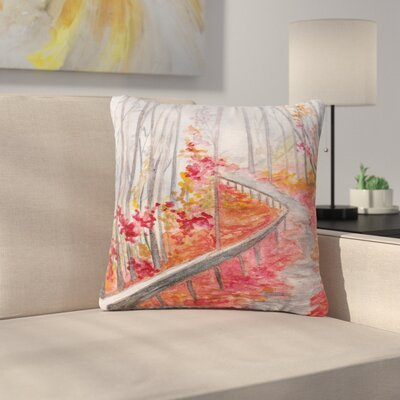 Rosie Brown Amicalola Falls Outdoor Throw Pillow Size: 18 H x 18 W x 5 D