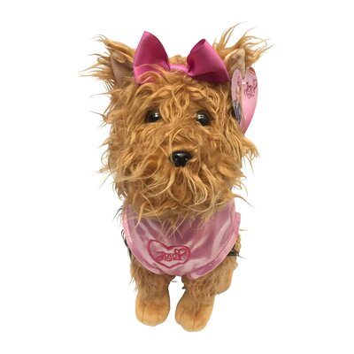 Nickelodeon JoJo Siwa BowBow the Dog Plush Throw Pillow