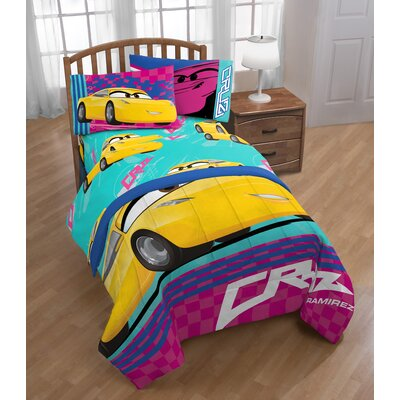 Disney/Pixar Cars 3 Movie Cruz 3 Piece Microfiber Sheet Set