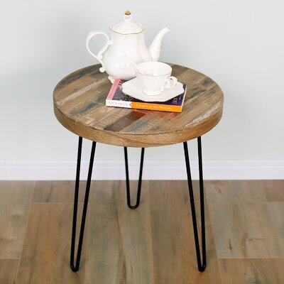 Czajkowski Pinewood Round End Table