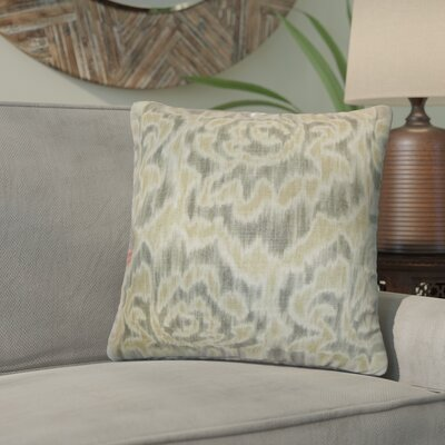 Wapan Linen Throw Pillow Color: Sand