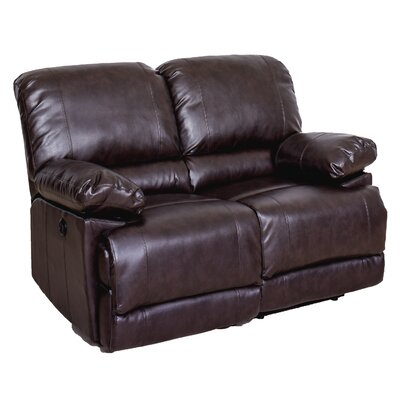 Coyer Reclining Loveseat Upholstery: Chocolate Brown