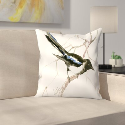 Suren Nersisyan Magpie Throw Pillow Size: 14 x 14