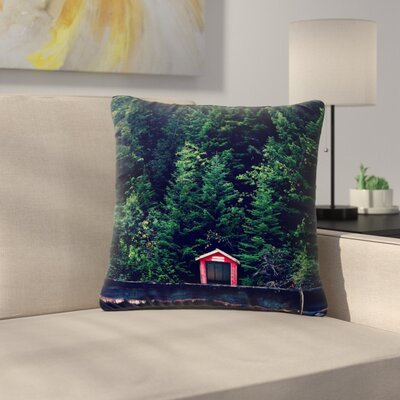 Robin Dickinson Woods Forest Outdoor Throw Pillow Size: 18 H x 18 W x 5 D