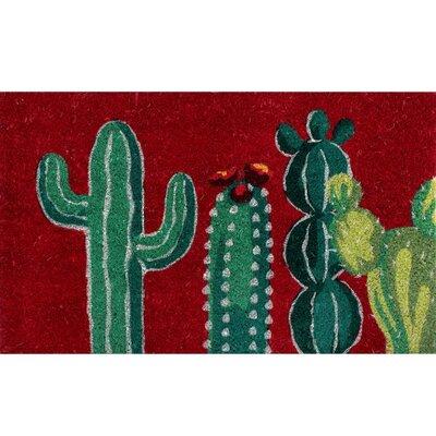 Oakton Coir Fibre Cactus Doormat