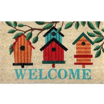 Fielden Coir Fibre Birdhouse Doormat
