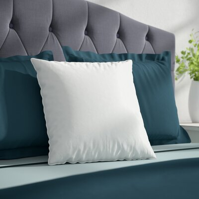 Feather Pillow Insert Size: 12 H x 12 W