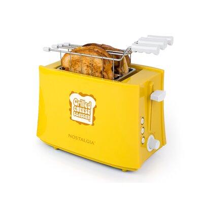 Nostalgia - Grilled Cheese Sandwich Toaster - Yellow TCS2