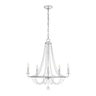 Langton 5-Light Candle-Style Chandelier