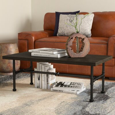 Griffith Industrial Coffee Table Color: Dark