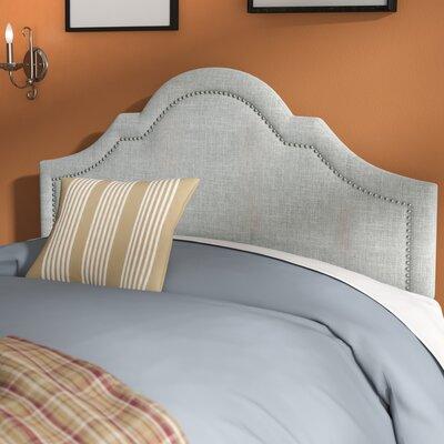 Olivet Upholstered Panel Headboard Size: Queen, Upholstery: Grayish Beige