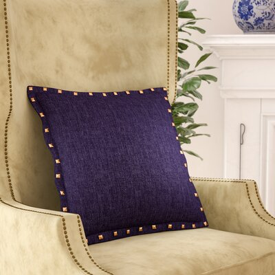 Diane Throw Pillow Color: Indigo