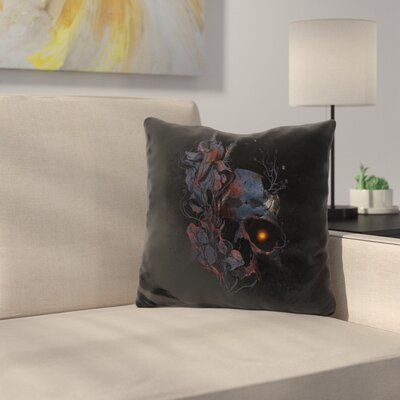 Deathblooms Throw Pillow