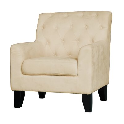 Ebron Traditional Armchair Upholstery: Beige