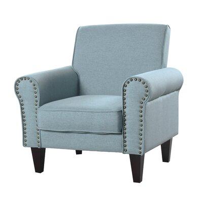 Ebner Upholstered Armchair Upholstery: Gray