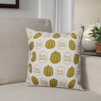 Pumpkins Throw Pillow Pillow Use: Outdoor