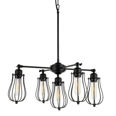 Gilligan 5-Light Cluster Pendant