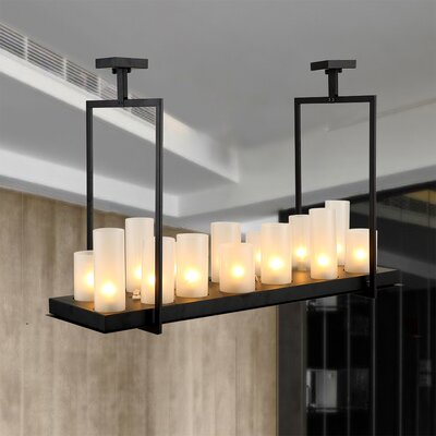 Donato Namraq Candle 14-Light Candle Style Chandelier