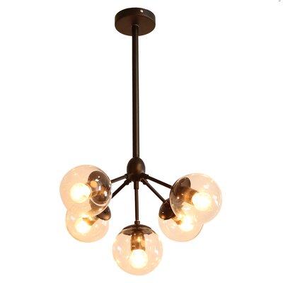 Dortch 5-Light Sputnik Chandelier