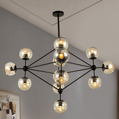 Dortch 15-Light Sputnik Chandelier