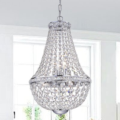Mcgehee 6-Light Crystal Chandelier