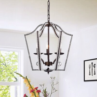 Mcglade 3-Light Foyer Pendant