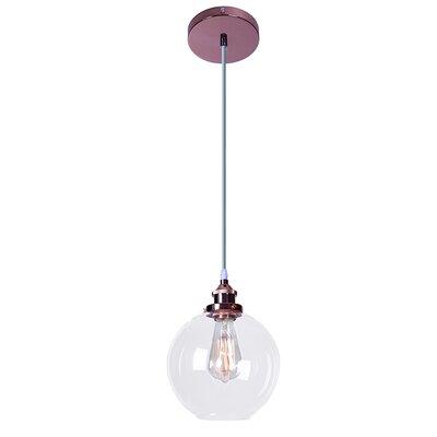 Donalson Shimar 1-Light Globe Pendant