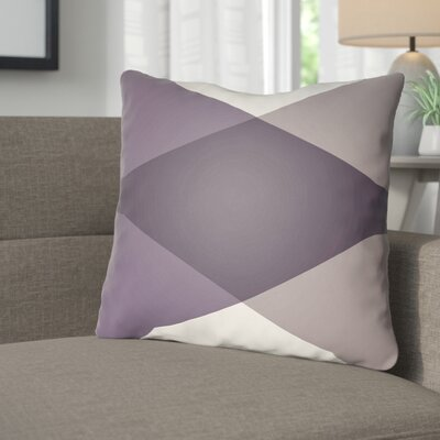 Wakefield Ii Throw Pillow Size: 18 H x 18 W x 4 D, Color: Eggplant