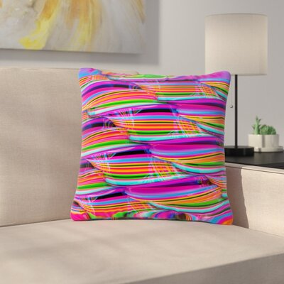 Danny Ivan Super Candy Outdoor Throw Pillow Size: 16 H x 16 W x 5 D