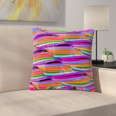 Danny Ivan Super Candy Outdoor Throw Pillow Size: 18 H x 18 W x 5 D