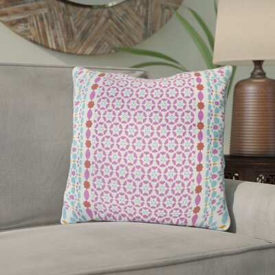 Kaleigh Geometric Cotton Throw Pillow Size: 22 H x 22 W x 5 D, Product Type/Fill: Pillow With Down Insert