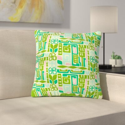 Amy Reber Maze Vector Outdoor Throw Pillow Size: 16 H x 16 W x 5 D