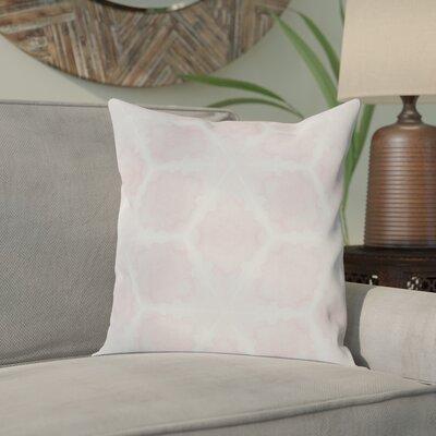 Aanya Indoor/Outdoor Throw Pillow Cover Color: Pink