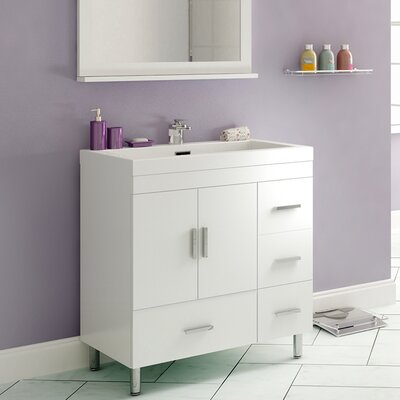 Garett Modern 30 Single Bathroom Vanity Set