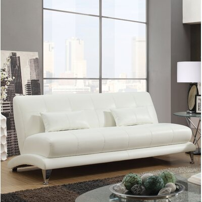 Gutshall Contemporary Sofa Upholstery: White
