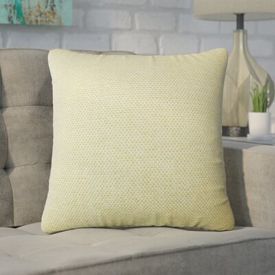 Chapple Solid Throw Pillow Color: Apple Green