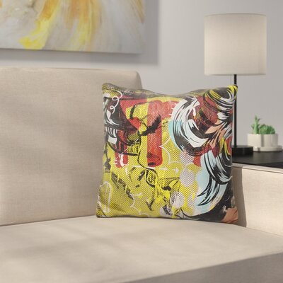 Fret Throw Pillow