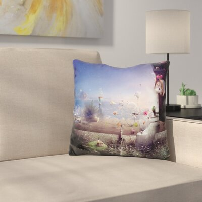 Hidden Place Throw Pillow