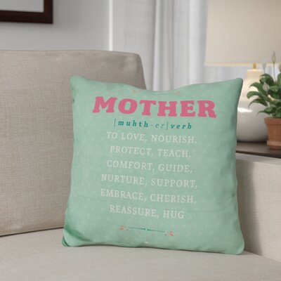 Gilkey Mother Throw Pillow