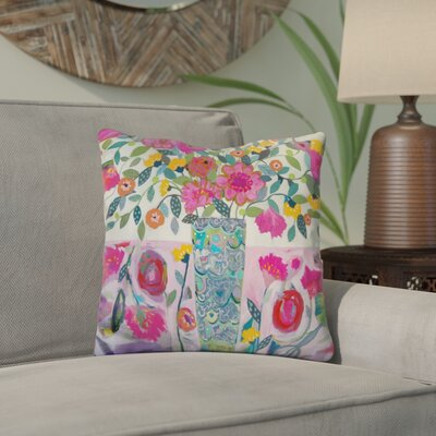 Edelstein Amazing Vase Throw Pillow