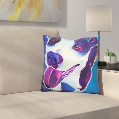Pit Bull Marchant Throw Pillow