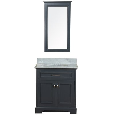 Coston 31 Single Bathroom Vanity Set Base Finish: Gray