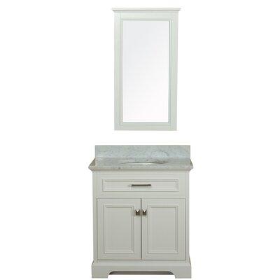 Coston 31 Single Bathroom Vanity Set Base Finish: Linen White