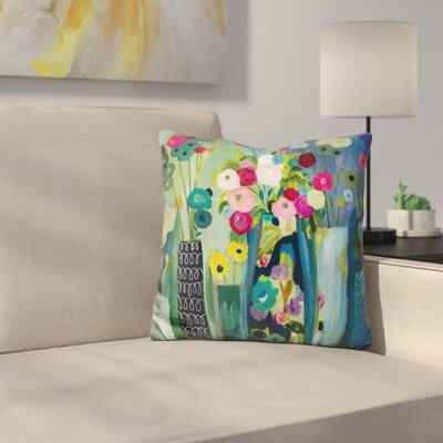 Create Beauty Every Day Throw Pillow