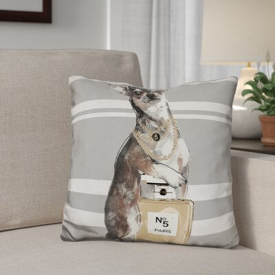 Date Night Chihuahua Throw Pillow