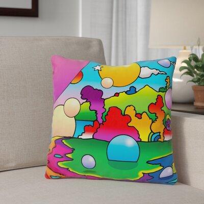 Berriman Bubbles Landscape Throw Pillow