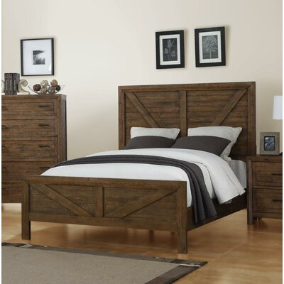 Mccart Panel Bed Size: King