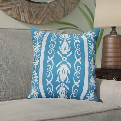 Crisler Geometric Print Indoor/Outdoor Throw Pillow Color: Teal, Size: 20 x 20
