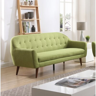 Cate Sofa Upholstery: Green